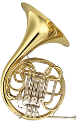 double horn french horn